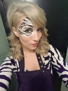 She puts the Z in Zebra!  www.youniqueprodu... #Younique #Lady #teenager #woman #wife #girlfriend #noticeme #crueltyfree #Christmasgifts #Christmasgiftideas #blackFriday #forher #makeupparty #onlineparty