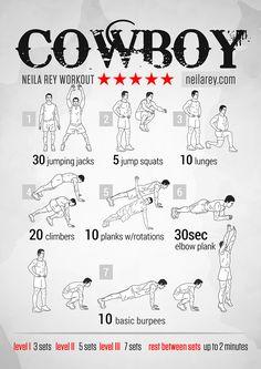Cowboy Workout