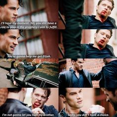"""#TheOriginals 3x18 """"The Devil Comes Here and Sighs"""" - Klaus and Lucien"""