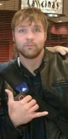 Dean Ambrose (He is like call me) hahaha