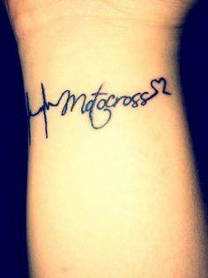 We love motocross #tattoo #heart #motocross