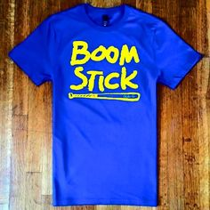 #boomstick #tshirt available at www.shockwavetees.com $19.99 #seattle #mariners #shockwavetees