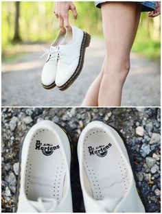 white dr. martens my best investment for this spring (so far)