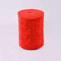 Lã Impermeável - Vermelho15x100cm Florists, Rouge