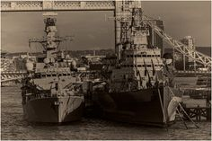 HMS Westminster & HMS Belfast