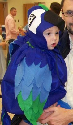 A  young  parrot. Child Halloween Costumes ...  sc 1 st  Pinterest & Rubies Costume Baby Parrot BlueRedGreen 612 Months Costume | Baby ...