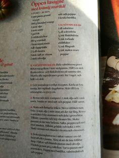 Lasagne svartkål