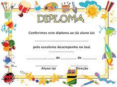 Free Printable Certificate Templates, Certificate Design Template, Free Printable Stationery, Boarder Designs, Preschool Graduation, School Gifts, School Projects, Education, Barn