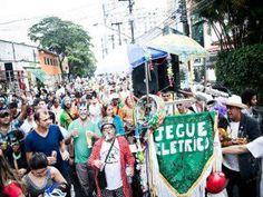 Jegue Elétrico realiza cortejo pré-Carnaval na Avenida Paulista