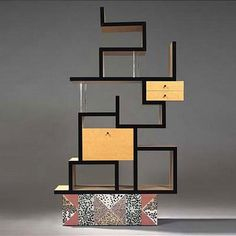 Shelf by Ettore Sottsass.