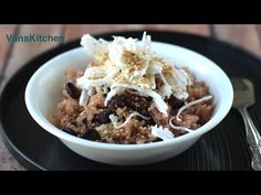 Vietnamese red beans sticky rice (Cach nau xoi bang noi com dien) Vietnamese Food, Vietnamese Recipes, Vietnam Recipe, Red Beans, Rice, Breakfast, Videos, Youtube, Breakfast Cafe