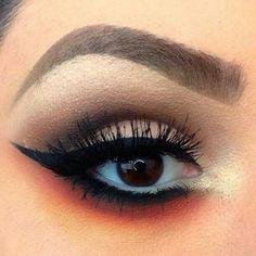 Reverse smoky eye NYX cosmetics