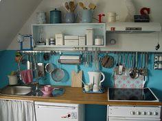 Sallys Zuhause: Die Küche