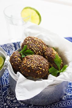 Falafel has a unique flavor, a crunchy texture from the outside and tender crumbs from the inside. Falafel is a vegan snack loved by many and now you can make yummy falafel form your kitchen. www.munatycooking.com   @munatycooking #falafel