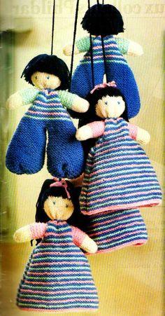 [Tricot] Le tourniquet de poupées - La Boutique du Tricot et des Loisirs Créatifs