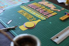 Typography lover on Behance