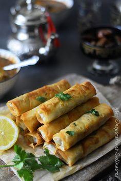 Sigara Böreği : Cigares Turcs recette facile Chef Recipes, Snack Recipes, Plats Ramadan, How To Cook Brats, Tapas Bar, Good Food, Yummy Food, Ramadan Recipes, Food Test