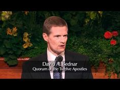 """David A. Bednar - These four words—""""Receive the Holy Ghost""""—are not a passive pronouncement; rather, they constitute a priesthood injunction—an authoritative. Spiritual Church, Spiritual Quotes, Spiritual Growth, Byu Devotionals, Mormon Channel, Lds Talks, Doctrine And Covenants, Follow Jesus, Lds Quotes"""