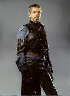 Jeremy Irons. A good Halt (O' Carrick), perhaps?