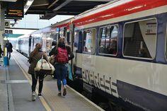 Gatwick Express en la estación del aeropuerto de Gatwick