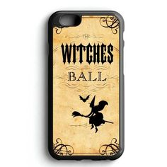 Witches Painting Silhouette iPhone 7 Case