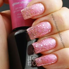 Sally Hansen Gel Polish - Glitter Chatter. I have this one and love it!! Favorite for sure