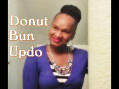 Donut Bun updo   High Donut Bun tutorial   Crochet Bun - YouTube