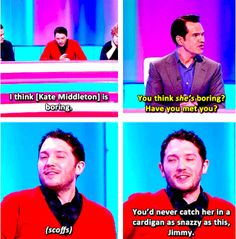 And when he was proud of his fantastic cardigan. | 21 Times Jon Richardson Was The Most Adorable Man In Britain