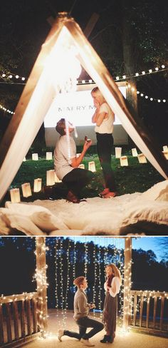 25 Seriously Romantic Proposal Locations and Ideas! Romantic Proposal, Perfect Proposal, Proposal Ideas, Wedding Goals, Our Wedding, Dream Wedding, Wedding Things, Budget Wedding, Wedding Dreams