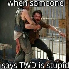 The walking dead is awesome