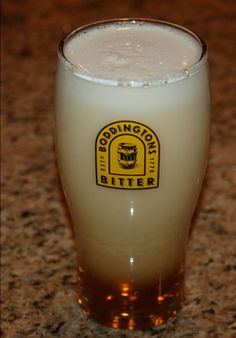 Boddingtons: A yummy English Ale that can be found in most American Irish Pubs.
