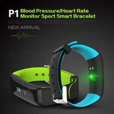 Smart Bracelet Blood Pressure Heart Rate Sleep Monitors Smart Watch Waterproof Activity Fitness Tracker Pedometer Wristband Call Reminder Smartband Wireless Bluetooth Smart Watch for Android IOS PK Fit Bit Fitbits(Color: Black, Red, Blue, Green, Grey Fitness Tracker, Fitness Activity Tracker, Fitness Activities, Fitbit, Best Fitness Watch, Fitness Watches For Women, Bluetooth, Wearable Device, Smart Bracelet