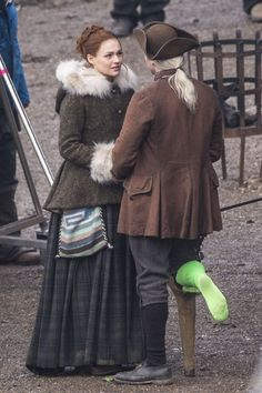 Bree and Ian (filming)