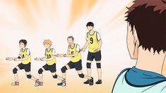 Precious Idiots   Nishinoya, Hinata, Tanaka   ...& Kageyama   Haikyuu!!   #anime   (gif)