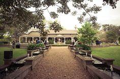 Lauren and Jakeson's Queensland Garden Wedding Australian Architecture, Australian Homes, House On A Hill, My House, Entrance Ways, Rock Pools, Homestead Homes, Homesteading, Garden Walls