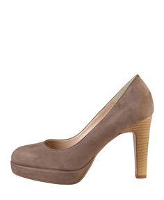 Arnaldo toscani - scarpe donna - collezione primavera/estate - décolletés - tomaia: vera pelle scamosciata - interno: ma - Decolletè donna Marrone