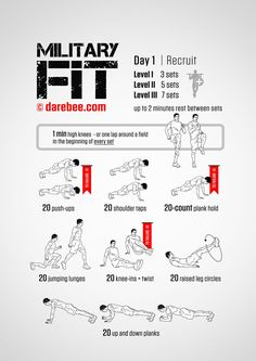 My new challenge: Military Fit: 30-Day Fitness Program