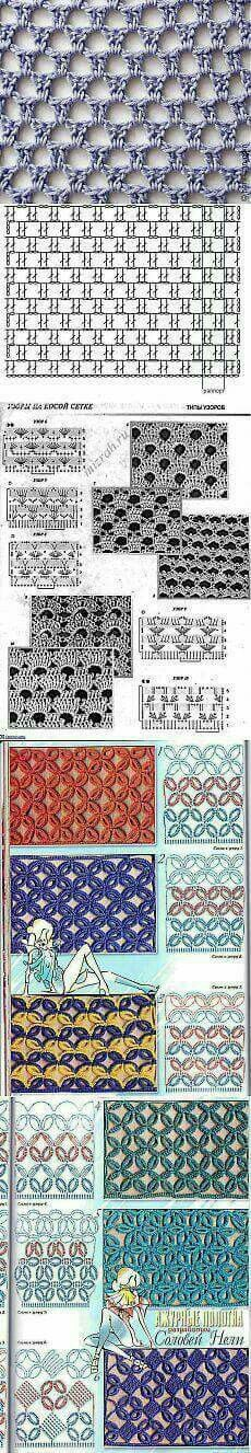 Watch This Video Beauteous Finished Make Crochet Look Like Knitting (the Waistcoat Stitch) Ideas. Amazing Make Crochet Look Like Knitting (the Waistcoat Stitch) Ideas. Filet Crochet, Crochet Motifs, Crochet Diagram, Crochet Stitches Patterns, Tunisian Crochet, Crochet Chart, Love Crochet, Diy Crochet, Crochet Designs