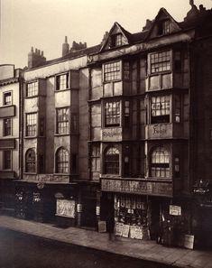 Old buildings in Aldersgate