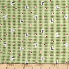 Pinafores & Petticoats Chevrons Green