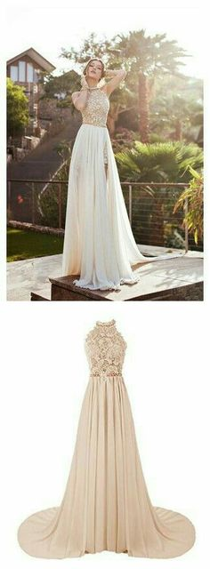 Prom dress,Prom dress prom dress,Beaded prom dress,Long prom dress,s Gorgeous Prom Dresses, Prom Dresses 2016, Grad Dresses, Dance Dresses, Ball Dresses, Pretty Dresses, Evening Dresses, Formal Dresses, Beige Prom Dresses