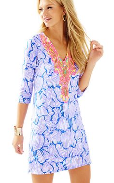 Lilly Pulitzer Bordeaux Tunic Dress