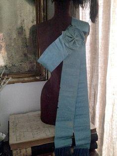 FleaingFrance Brocante Society 1800's Ceremonial Sash