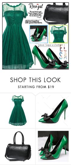 """""""Rosegal 72"""" by aida-ida ❤ liked on Polyvore featuring beauty, Disney and vintage"""