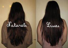Ma pousse de cheveux depuis 2009: Lisser, raidir ses cheveux naturellement, sans fer à lisser et sans abîmer