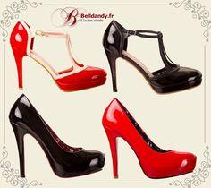 Noir ou Rouge ? Nos bestsellers sont de retour en stock !!  Chaussures Escarpins Pin-Up Rockabilly Vintage 50s  http://www.belldandy.fr/catalogsearch/result/?q=BNBND00 https://www.facebook.com/belldandy.fr/photos/a.338099729399.185032.327001919399/10154654192619400/?type=3