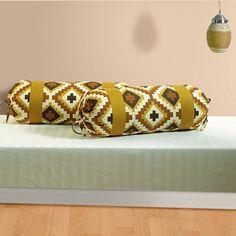 Mustard Maze Bolster Cover- Impress your guest. Bolster Covers, Bangles, Maze, Mustard, Bracelets, Labyrinths, Mustard Plant, Bracelet, Cuff Bracelets