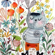 Watercolours by Helen Dardik