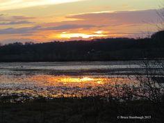 Sunset reflection by BruceStambaugh
