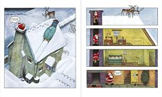 "Merry Christmas and a happy new year 2015 ""Raymond Briggs Father Christmas"""
